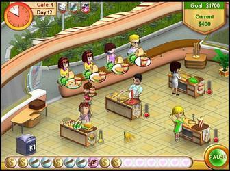 Игры для девочек о кафе